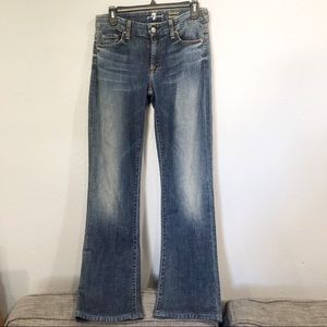 7 For All Mankind   Kimmie Bootcut Med Wash Jeans